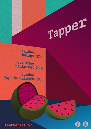 Tapper Bar: this week djs + PopUp kitchen