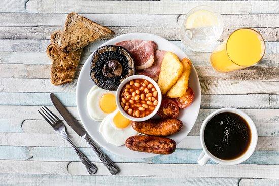 Tattenhall Marina : Full English breakfast