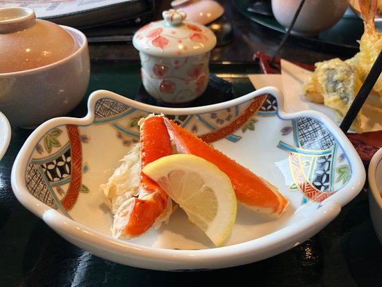 Family Dining Kani Masamune: ランチセットの一部:蟹