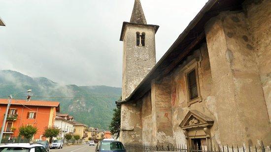 Chiesa di San Marco Varallo: Chiesa di San Marco (laterale)