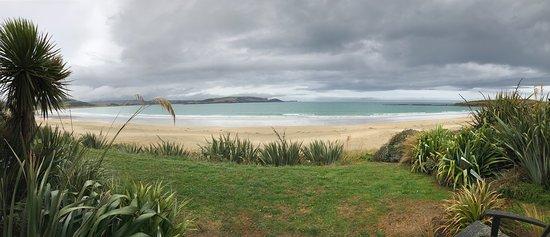 Tokanui, Selandia Baru: view from the rear deck