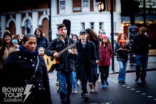 David Bowie Walking Tour : Bowie Tour London - Brixton
