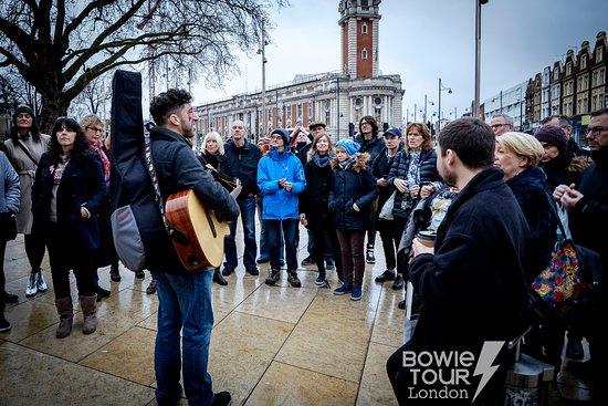 David Bowie Walking Tour : London's Original David Bowie Musical Walking Tour - Brixton