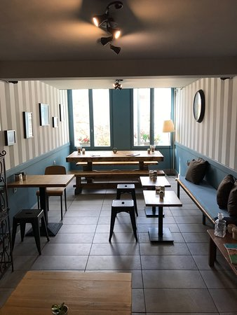 Foyer Espresso Bar: It's cosy, isn't it?