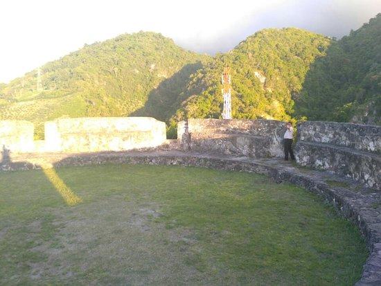 Otanaha Fortress: Salah satu sisi benteng