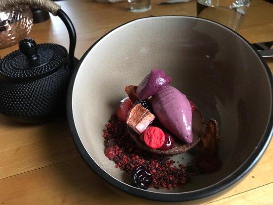 Fleher Hof: Dessert: Beerengarten