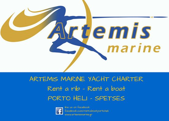 Boat Rental at Porto Heli Spetses by Artemis Marine Yacht charter