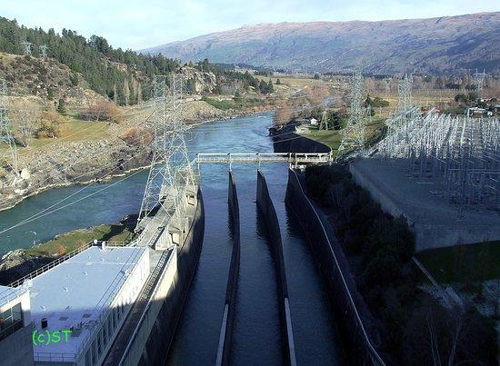 Roxburgh Hydro Dam & Lookout