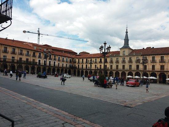 Plaza Mayor de Leon: PLAZA MAYOR