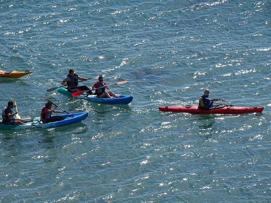 Kayak San Juan de los Terreros: Actividades deportivas al aire libre son buenas para ti y tus hijos