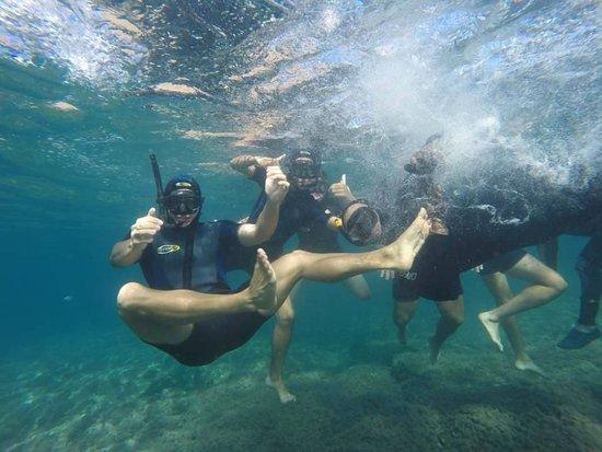Kayak San Juan de los Terreros: Snoorkel en las distintas formaciones submarinas que albergan una elevada diversidad biológica