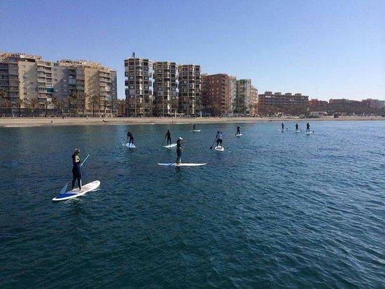 San Juan de los Terreros, Spanien: Un equipo en funcionamiento