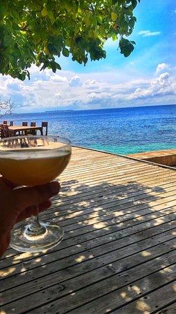เซ็นทารา แกรนด์ ไอส์แลนด์ รีสอร์ท แอนด์ สปา มัลดีฟส์: Breakfast - Centara Grand Maldives - andtheadventurecontinues.ie review