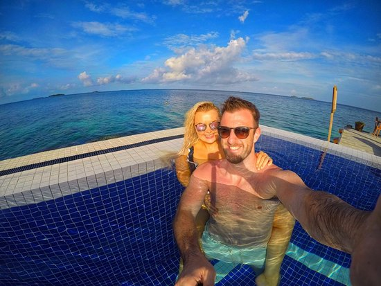 Centara Grand Island Resort & Spa Maldives: The Club Main Pool - Centara Grand Maldives - andtheadventurecontinues.ie review