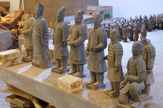 Wendy Wu Tours-Day Tour: Miniature examples of Terracotta Warriors for sale