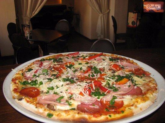Olivia Pizza: «Оливия пицца»