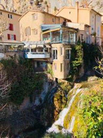 La Bastide de Moustiers: The village of Moustiers..