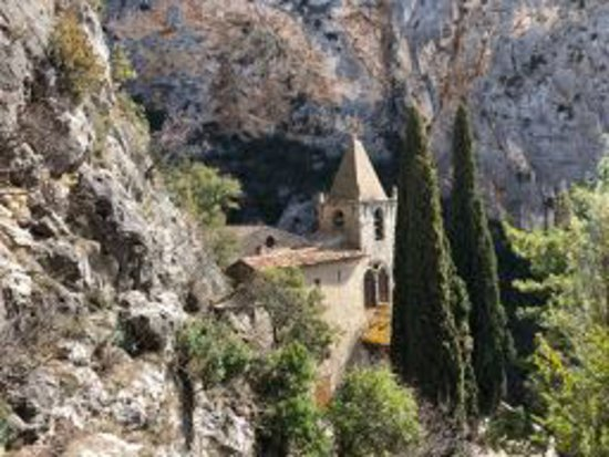 La Bastide de Moustiers : The chapel