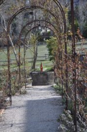 La Bastide de Moustiers: Lovely setting in local agricultural area....