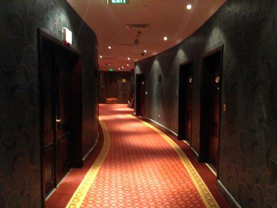 Horizon Manor Hotel : Corridor outside the room