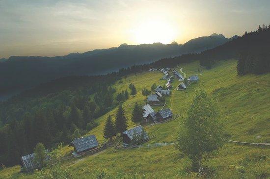 Srednja vas v Bohinju, Slovenië: Zajamniki (Tomo Jeseničnik foto)