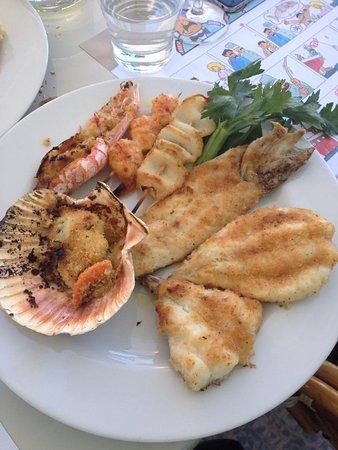 Capitan Italo: arrosto di pesce