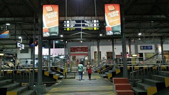 Yogyakarta Station照片