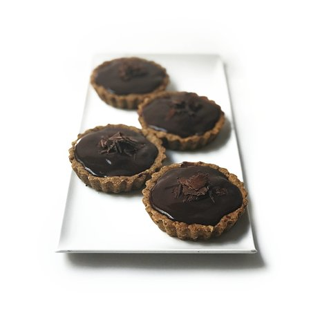 Guna Vegan: Mini Chocolate Mousse Pies