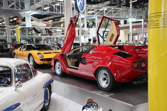 Auto & Technik Museum (Automobile and Technology Museum): Lamborghinis