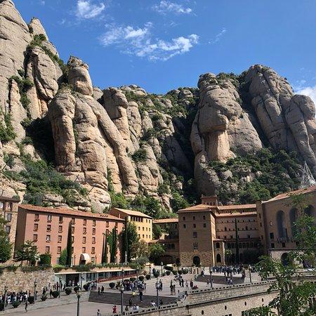 Abadia de Montserrat ภาพถ่าย