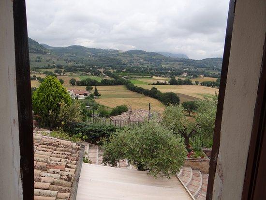 La Bastiglia: View from our bedroom window,