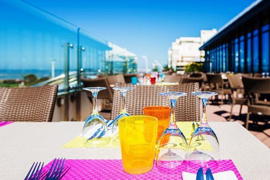 Le Cap Restaurant : Terrasse du restaurant