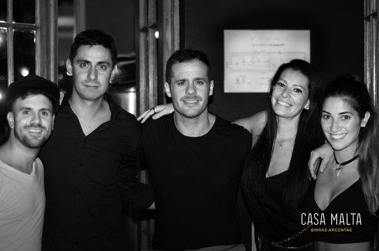 Casa Malta - Birras Argentas: Amigos de Casa Malta