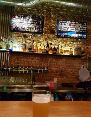 Taproom Madrid : Great craft beer bar