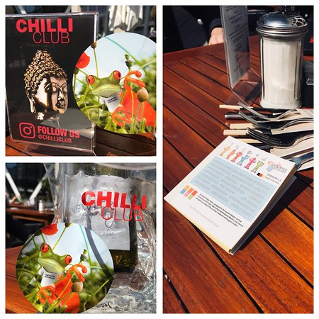 CHILLI CLUB Bremen: Entspanntes Businessmeeting zum Lunch im chilli Club.