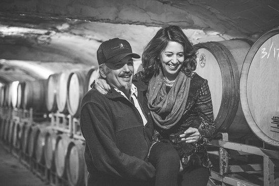 Carlos Creek Winery: Carlos Creek Owners Kim & Tami Bredeson
