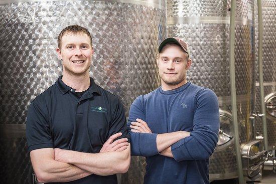 Carlos Creek Winery Winemakers Russ Funk & Brett Murphy