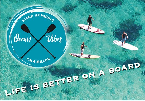 Mallorca, Spanje: Ocean Vibes, stand up paddle board tours