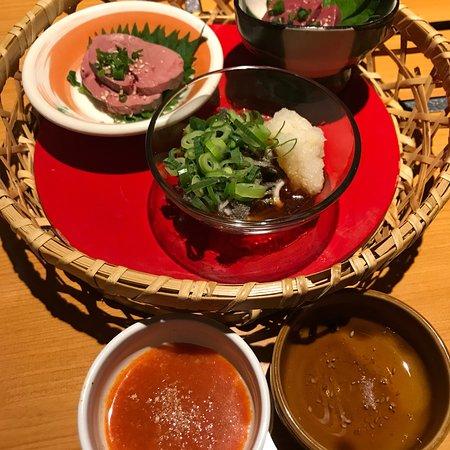 Sum Bal Kitashinchi : 赤身の美味しい焼肉屋 脂がしつこくなくスッキリでとろけるような口あたり 旨味もしっかりとあり、タレで食べるのは勿体無い お店オススメの山椒塩が赤身の味をしっかりと堪能できます。 しつこくないの