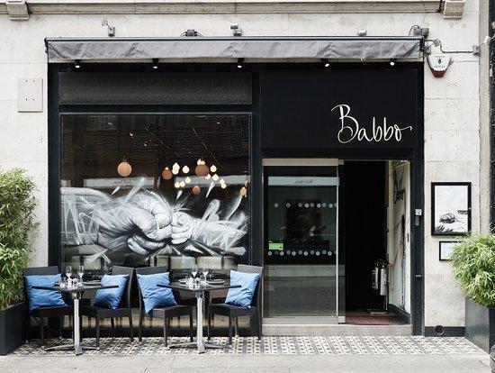 Babbo Restaurant: Entrance