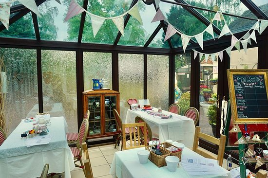 Kinver, UK: 'Crafty Hen Party' at Kinfayre Coffee House