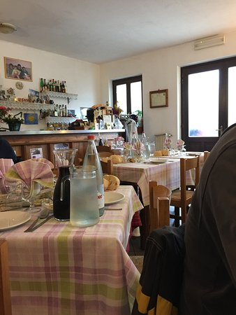 Viu, Italia: Scorcio della sala