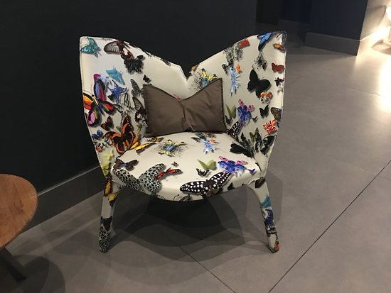 W Panama: Haute Design Everywhere, including these playful chairs from France.