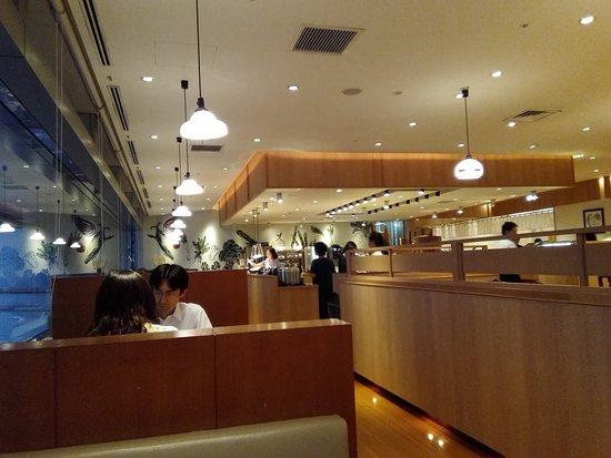 Keke Yokohama Landmark Tower: 座席もかなり多いです