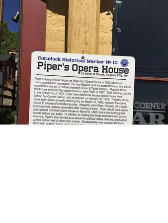 Piper's Opera House: Text