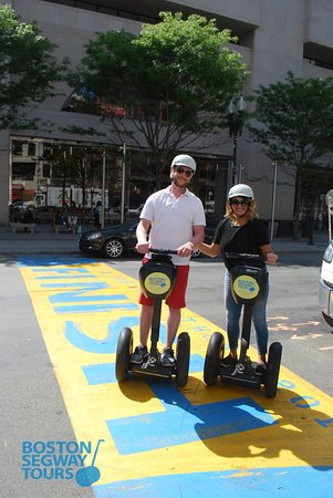 Boston Segway Tours: Want to cross the #FinishLine to the country's oldest #marathon? We can help you get there 😉.