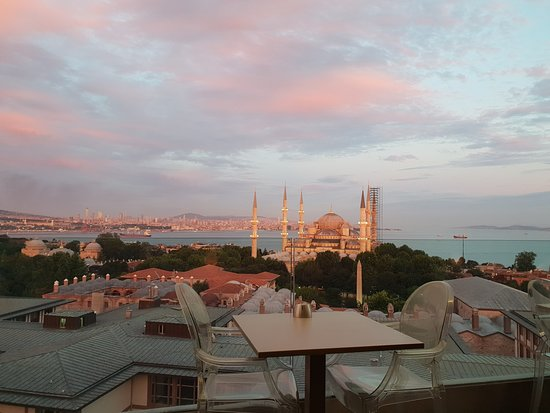 Fine Dine Istanbul : View from the top