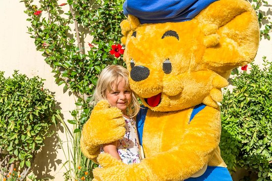 Ibiscos Garden Hotel: Bamse for Kids