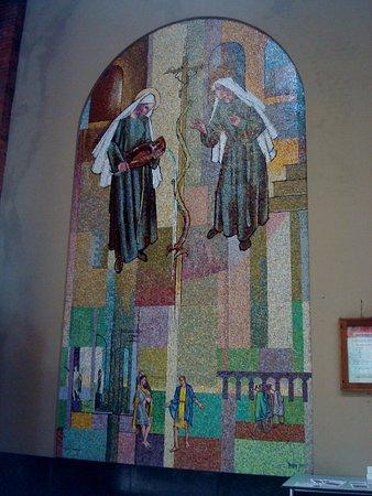 Santuario di Santa Rita: Mosaico