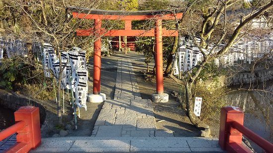 Tsurugaoka Hachimangu shrine Kamakura Genpei-ike pond/island
